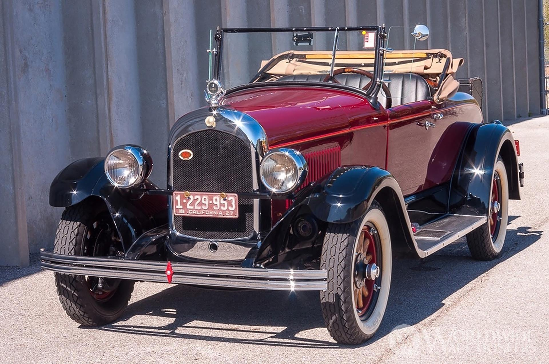 1927 Chrysler  Series 62 Roadster