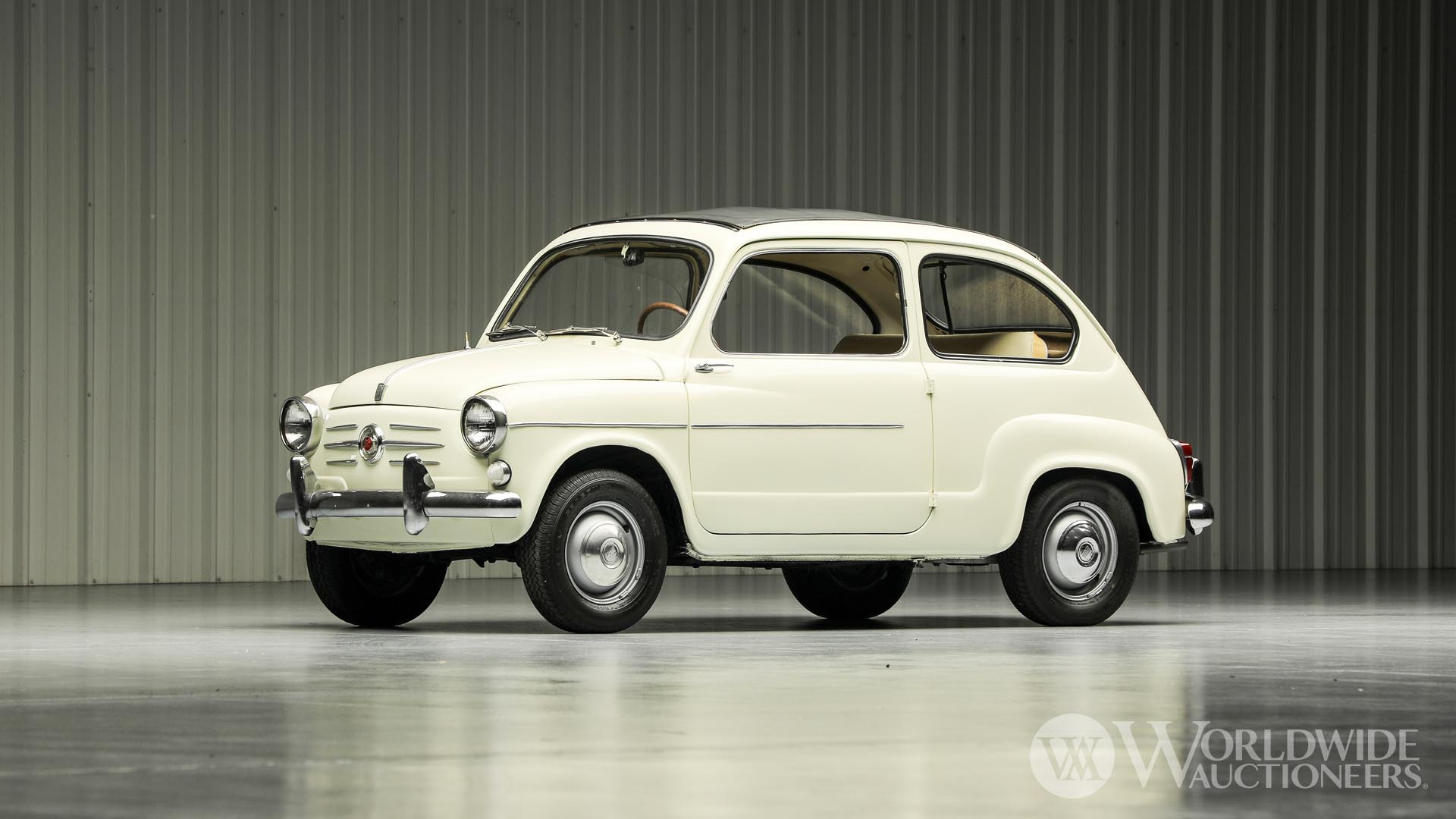 1959 Fiat 600 'Sliding Roof' Coupe