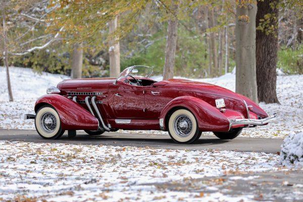 1936 Auburn 852 SC Boattail Speedster - SC20